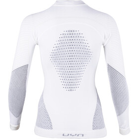 UYN Fusyon UW Longsleeve Shirt Dames, snow white/anthracite/grey